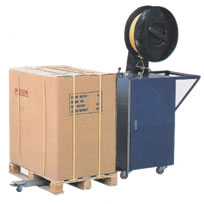 Pallet Strapping Machine for strapping around pallets