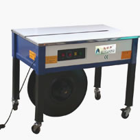 Semi Automatic Strapping Machine - Open High Table